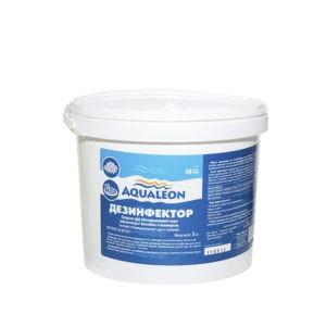 Aqualeon Дезинфектор БСХ (быстрый стаб. хлор) в гранулах 5кг