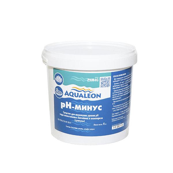 Aqualeon pH минус в гранулах 4кг