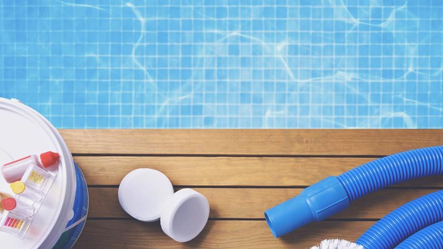 Химия от цветения воды в бассейне