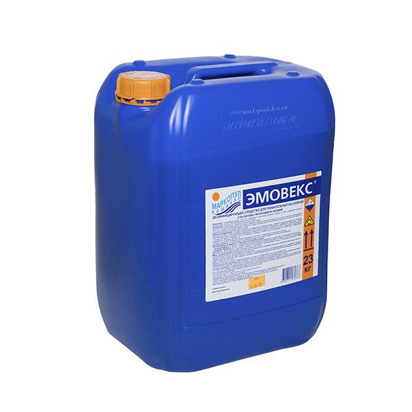 Средство для дезинфекции воды в бассейне Эмовекс жидкий хлор  30л