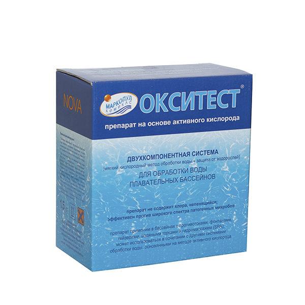 Окситест НОВА на основе кислорода, коробка 1,5кг