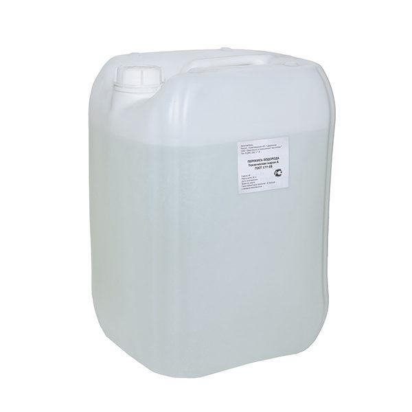 Перекись водорода (водорода пероксид), 50 %- канистра 30л