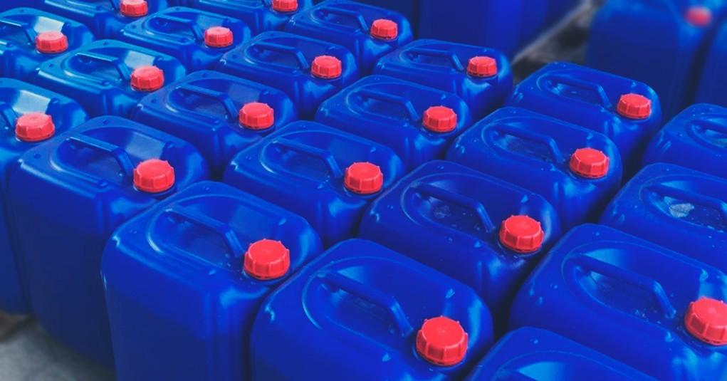 Большое поступление перекиси водорода