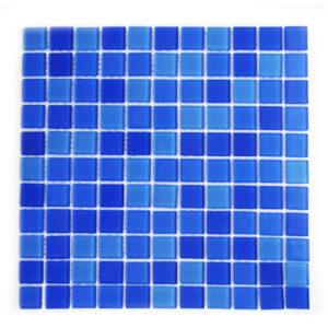 Мозаика стеклянная Aquaviva Cristall Jamaika светлая