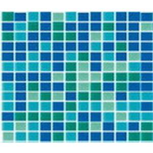 Мозаика стеклянная Aquaviva зеленый микс B2316N