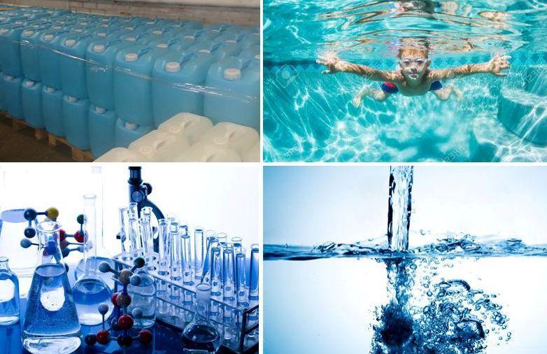 Как использовать перекись для бассейнов? Какая дозировка, сколько заливать и как часто?